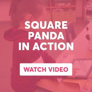 Square Panda in action