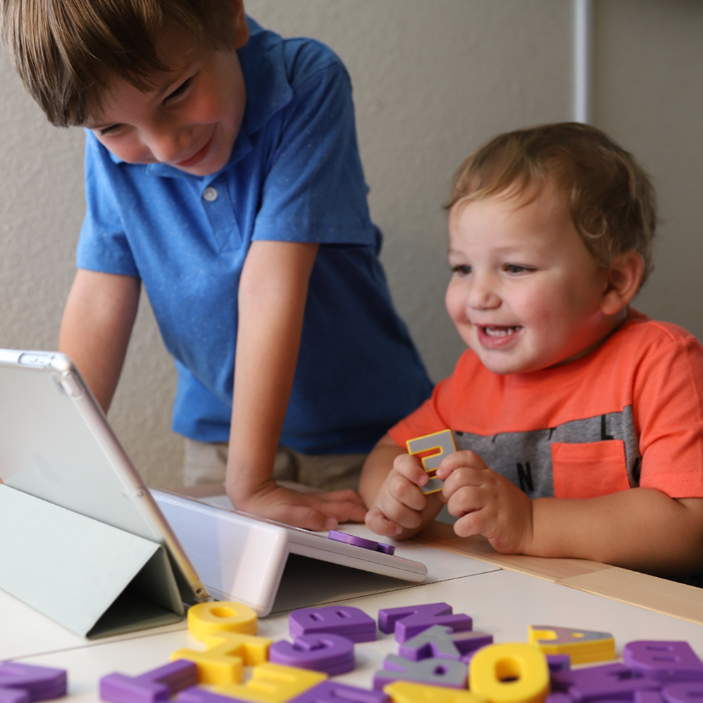 Square Panda at home = Learning time + FUN for your little ones