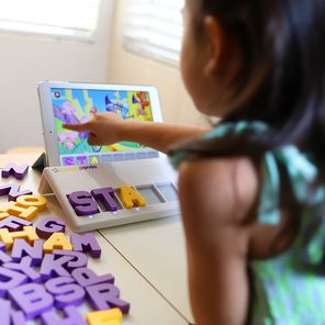 While at home, Square Panda is the stress-free and fun way to help your child with learning to read